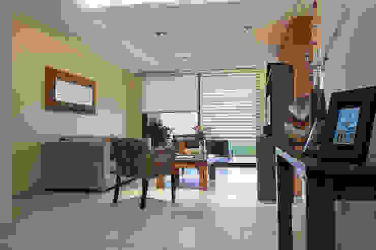 iluminación puntual Livings modernos: Ideas, imágenes y decoración de Estudio Alvarez Angiono Moderno