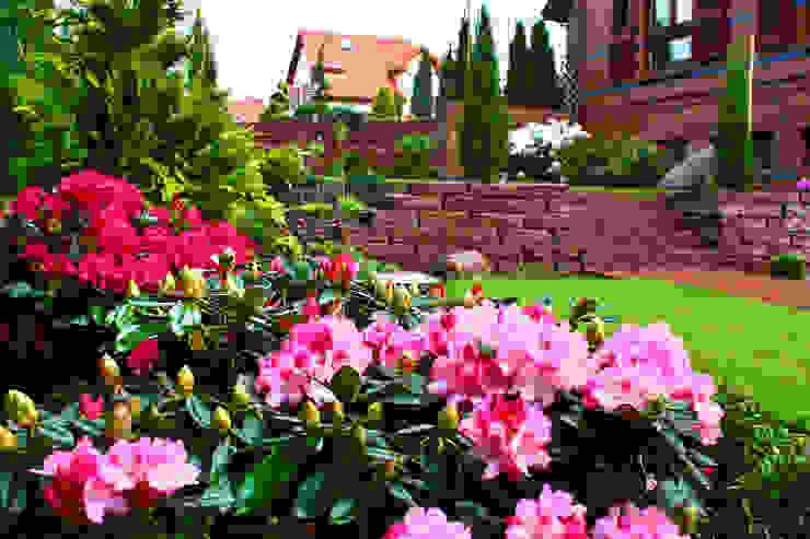 Wielopoziomowy ogród Klasyczny ogród od LandscapeDesign.pl Klasyczny
