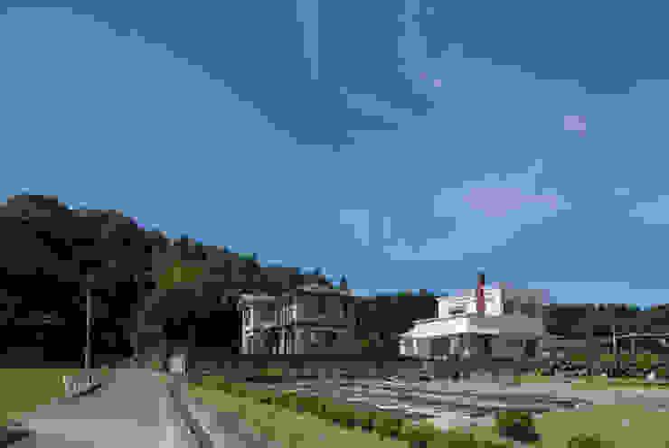 外観 遠景 の 松本勇介建築設計事務所 / Office of Yuusuke MATSUMOTO