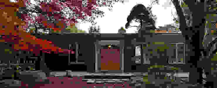 玄関 オリジナルな 家 の 清正崇建築設計スタジオ オリジナル