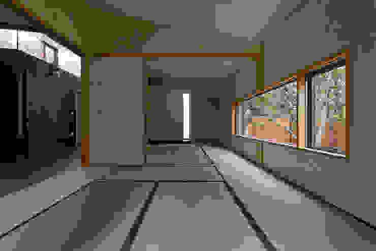 客間: 清正崇建築設計スタジオが手掛けた和室です。,オリジナル