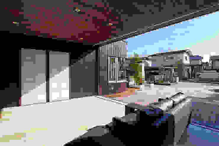 リビング オリジナルデザインの リビング の 清正崇建築設計スタジオ オリジナル