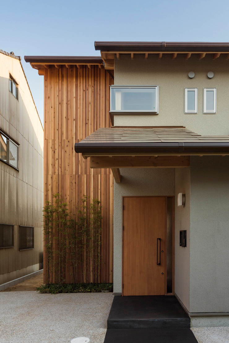 イン・エクスデザイン / in-ex design.Co.,Ltd. Single family home Wood Wood effect
