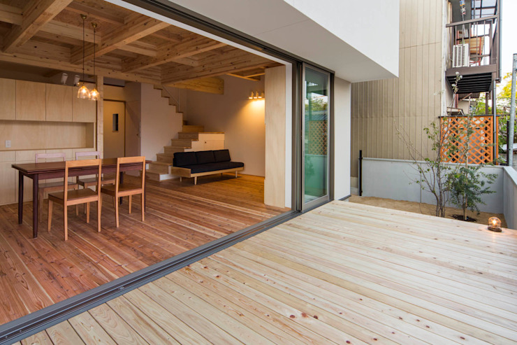 イン・エクスデザイン / in-ex design.Co.,Ltd. Modern living room