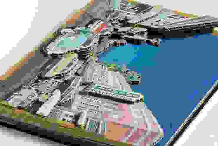 ダンボールアート・ハワイ: ヒロ・デザイン・ラボが手掛けたトロピカルです。,トロピカル