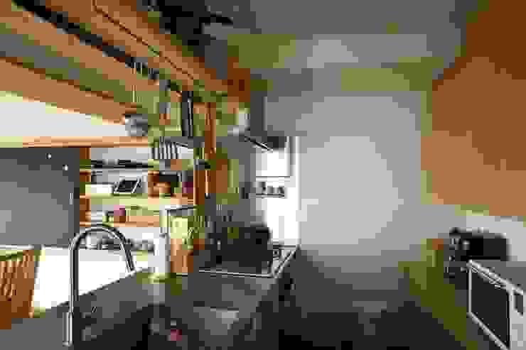 インナーテラスのある最上階暮らし オリジナルデザインの キッチン の 株式会社エキップ オリジナル