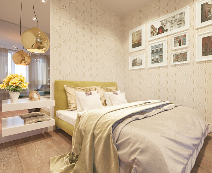 Eclectic style bedroom by Bronx Eclectic