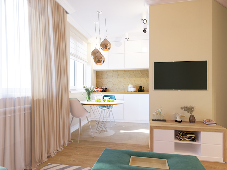 Eclectic style kitchen by Bronx Eclectic