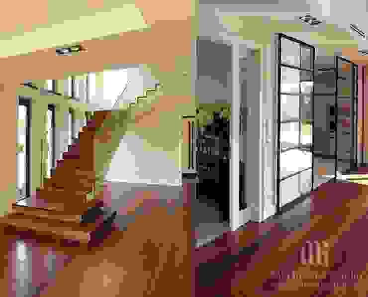 Corredores, halls e escadas clássicos por MG Interior Studio Michał Głuszak Clássico