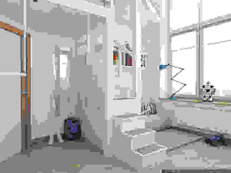 детские. г. москва Детская комната в стиле модерн от цуккини Модерн