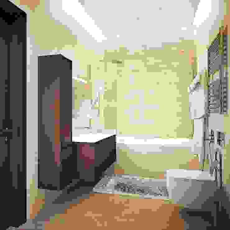 квартира на Удальцова Ванная в классическом стиле от ООО 'Студио-ТА' Классический