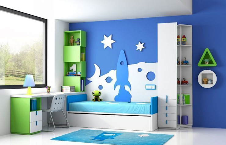 Habitación infantil de homify Moderno