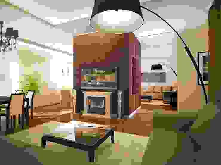 квартира на Удальцова Гостиная в классическом стиле от ООО 'Студио-ТА' Классический