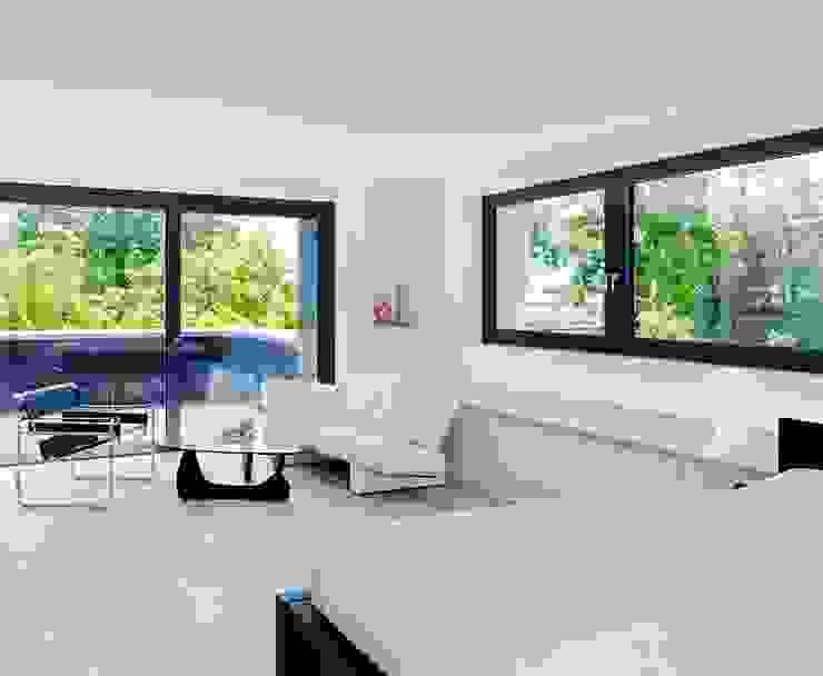 Dormitorios minimalistas de Gritzmann Architekten Minimalista