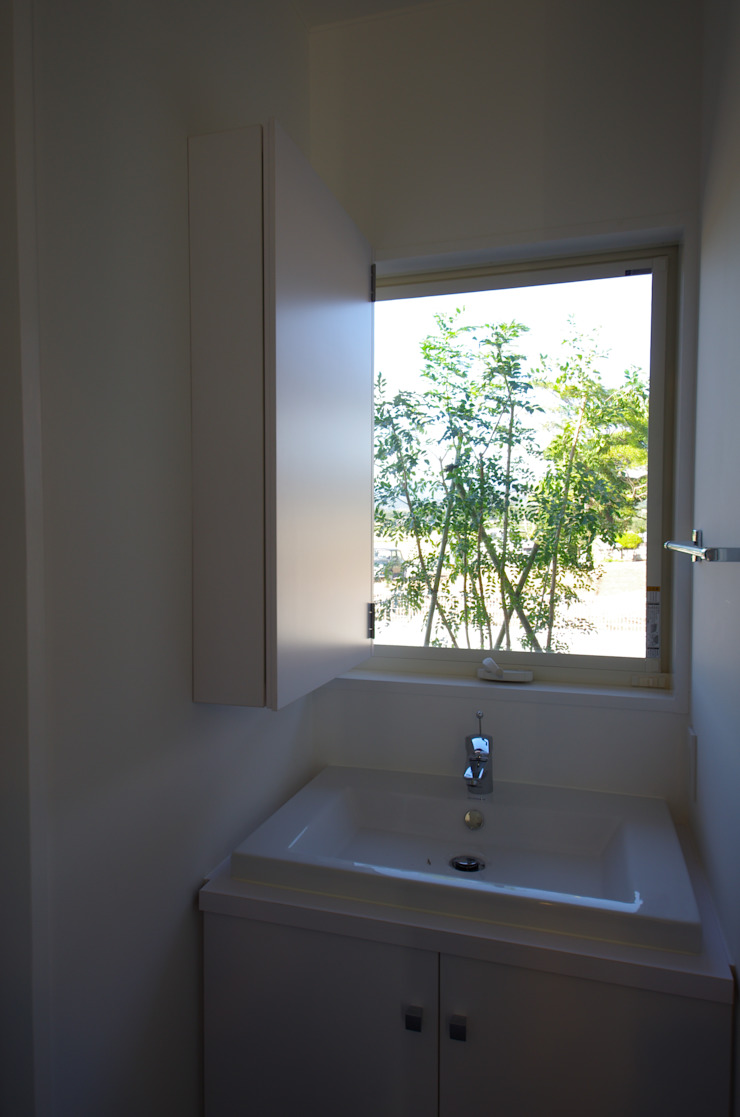 WORKS HOUSE オリジナルスタイルの お風呂 の 徳永建築事務所 オリジナル