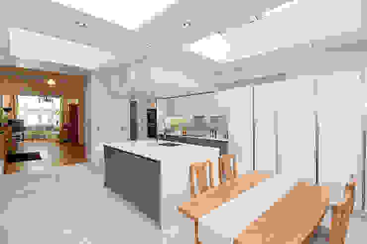 Putney, Wandsworth SW6 London | Kitchen house extension Modern kitchen by GOAStudio | London residential architecture Modern