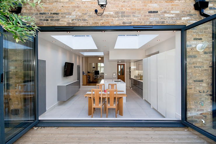 Putney, Wandsworth SW6 London | Kitchen house extension Modern houses by homify Modern