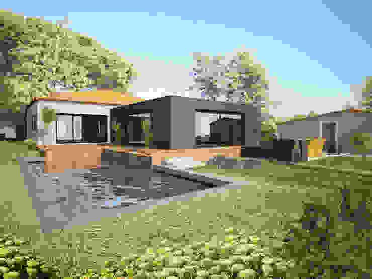 Renovação moradia em Cascais shfa Casas modernas
