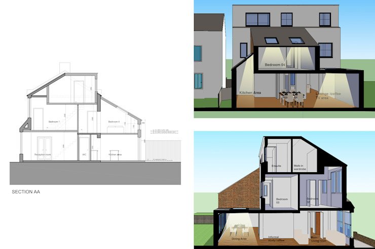 modern  by GOAStudio | London residential architecture, Modern