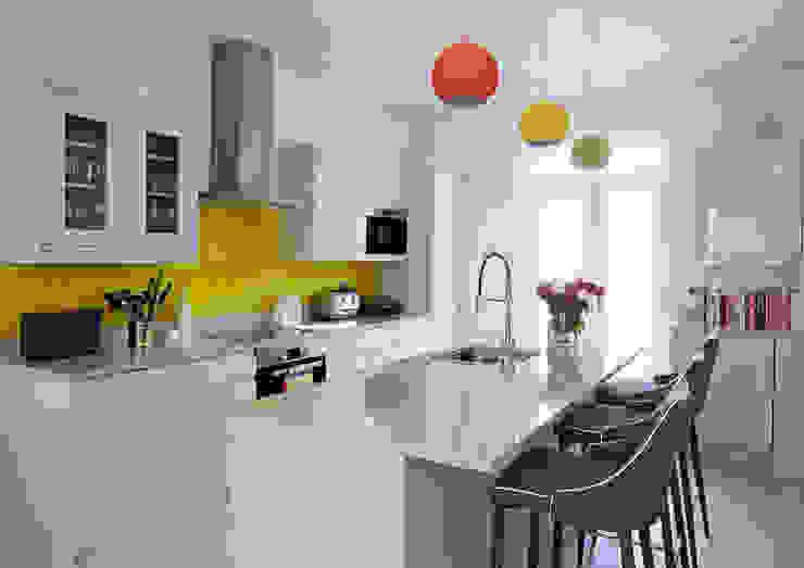 Open Plan Kitchen Collective Works Modern kitchen
