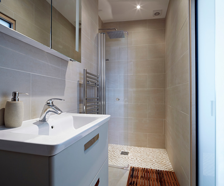Baños de estilo  por Collective Works, Moderno