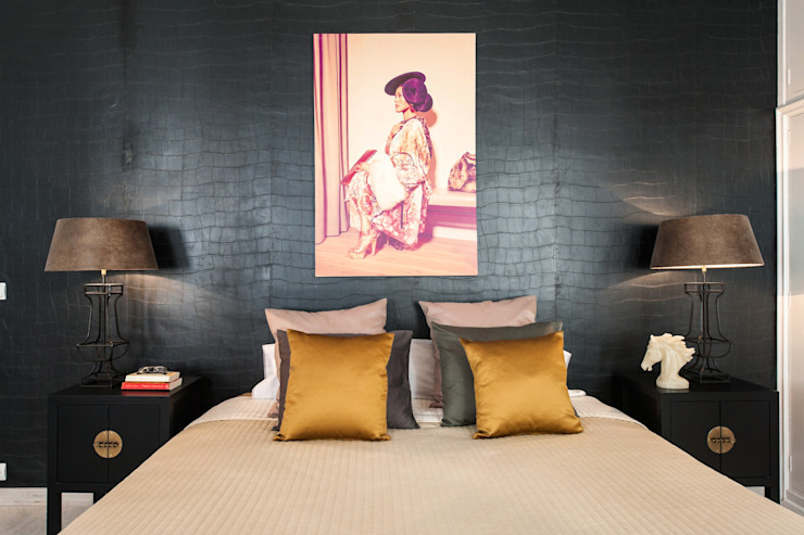 Asian style bedroom by Markham Stagers Asian