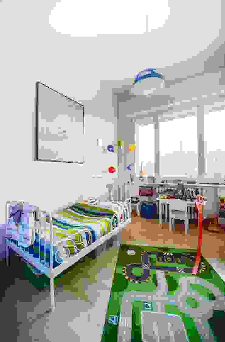 Luce naturale nella stanza dei bambini Studio Prospettiva Stanza dei bambini moderna