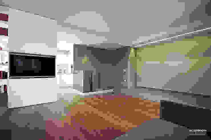 Salas de estilo moderno de Luca Mancini | Architetto Moderno