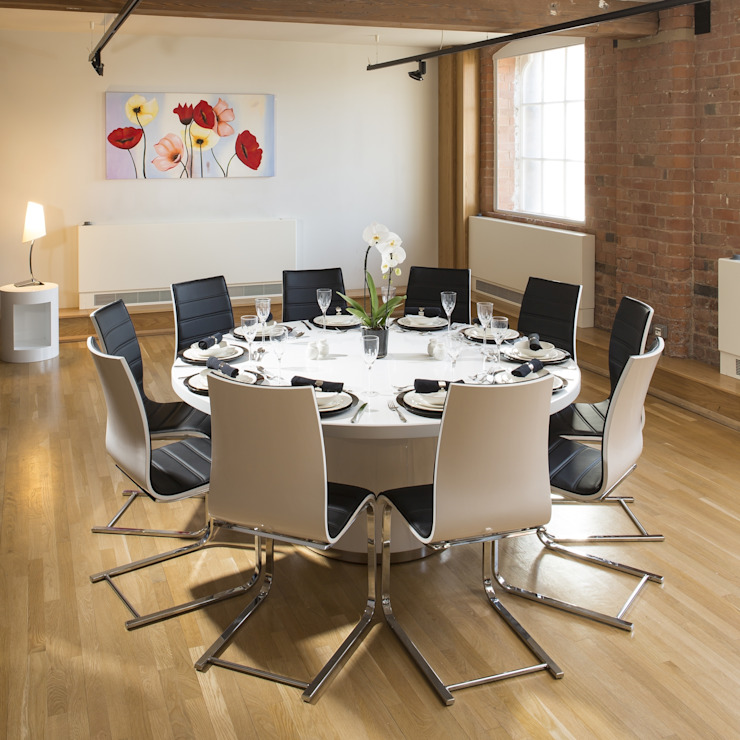 10 Seater Dining set with Corian topped table Quatropi ltd Dining roomTables