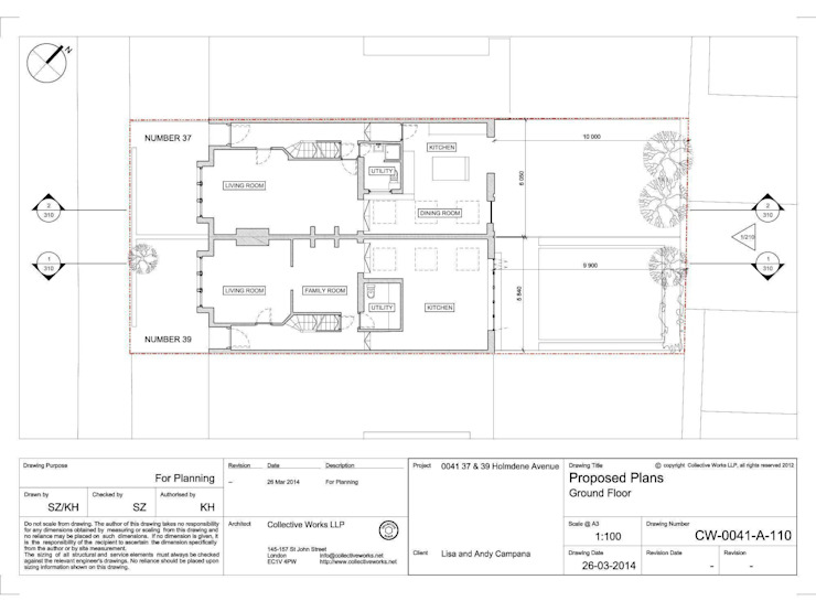 Proposed Floor Plan de Collective Works