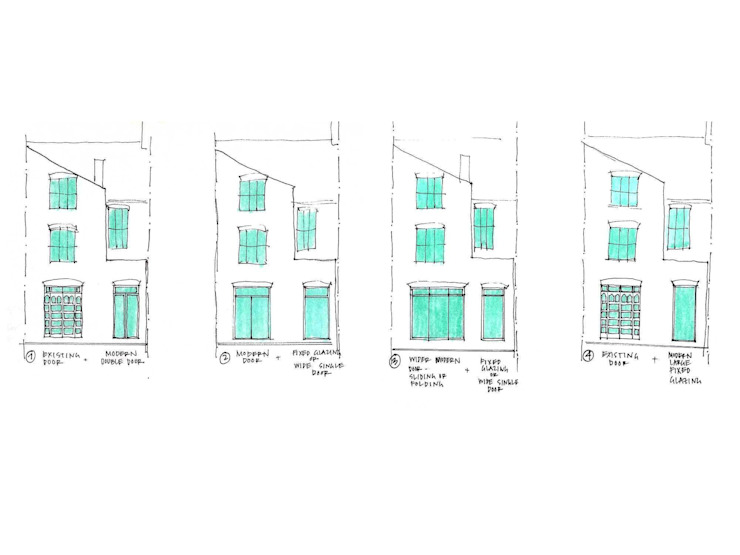 Rear Extension Sketches de Collective Works