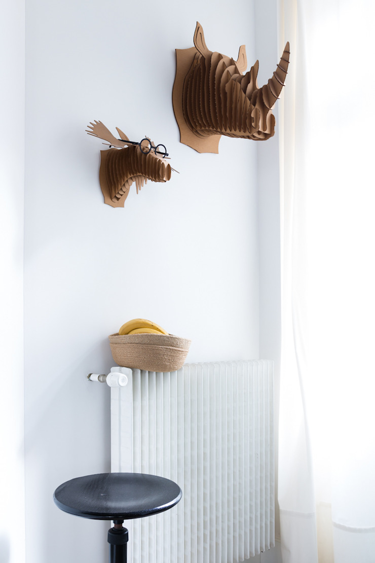 EK Architecte 現代廚房設計點子、靈感&圖片