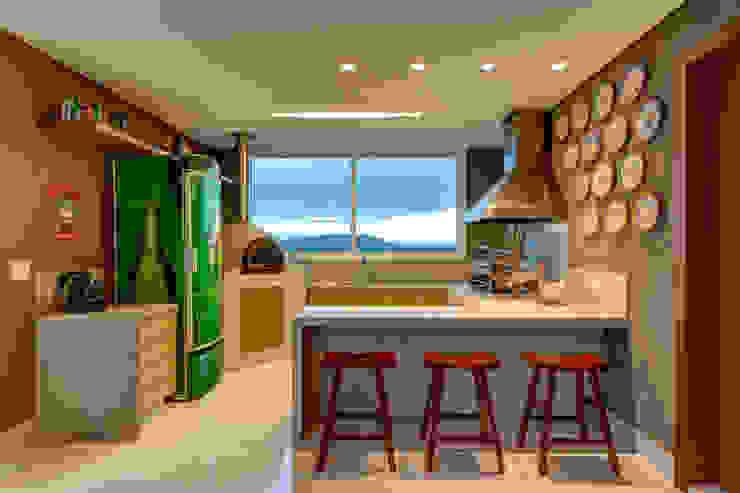 Cozinha Gourmet por Lage Caporali Arquitetas Associadas Eclético