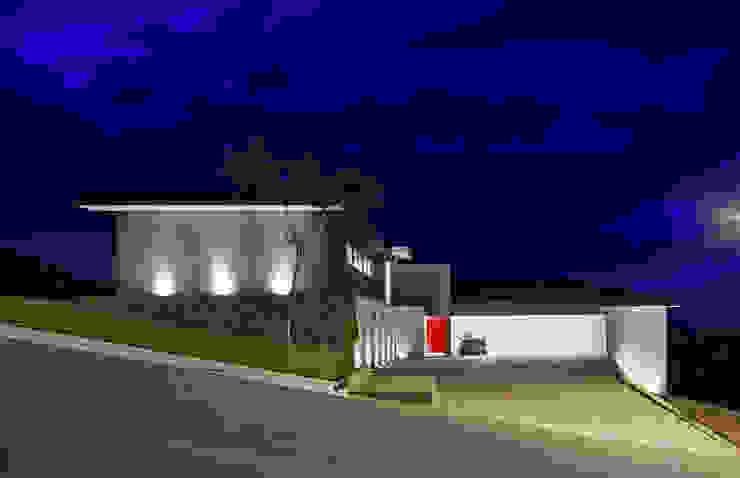 Fachada Frontal Lage Caporali Arquitetas Associadas Casas ecléticas