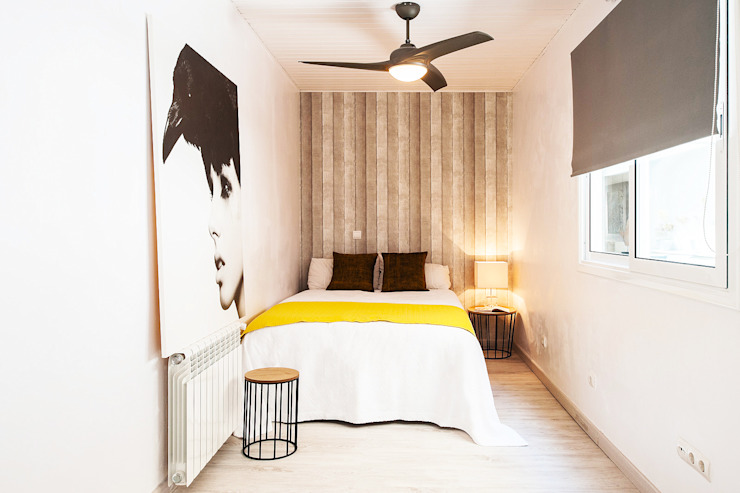 Minimalist Yatak Odası Markham Stagers Minimalist