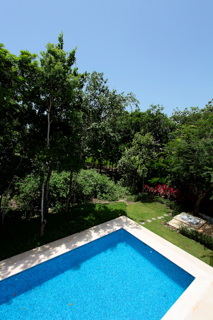 Enrique Cabrera Arquitecto Modern garden