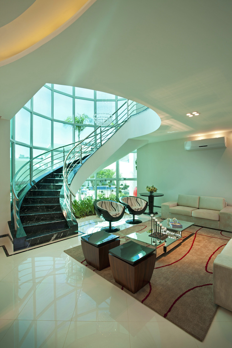 Livings de estilo moderno de Arquiteto Aquiles Nícolas Kílaris Moderno