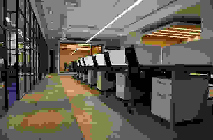 Diseño de Iluminación de DF ARQUITECTOS Moderno
