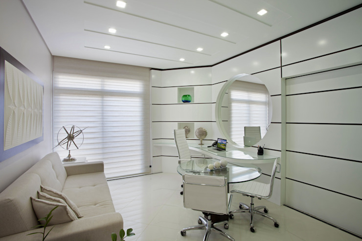 Modern Study Room and Home Office by Arquiteto Aquiles Nícolas Kílaris Modern