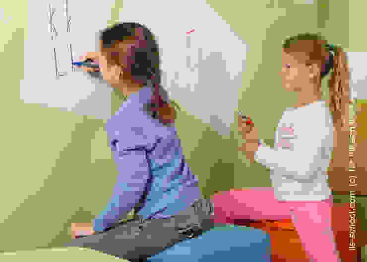 Магнитно-маркерные покрытия в Международной языковой школе от IdeasMarket Классический
