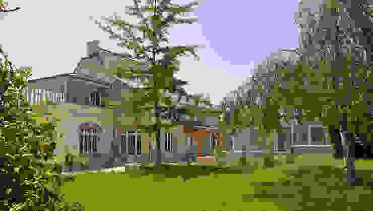 PROPRIETE SUD FINISTERE Maisons modernes par CEDRIN ARCHITECTURE Moderne