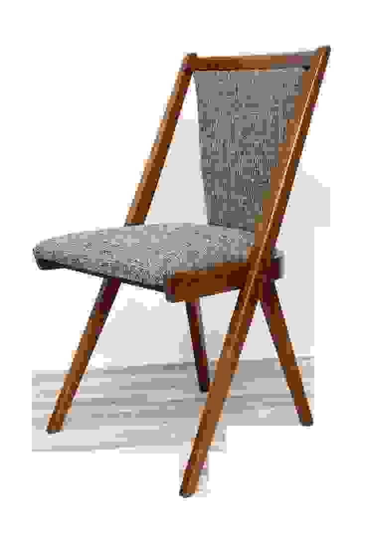 Krzesło zielone, lata 60. od Lata 60-te Minimalistyczny