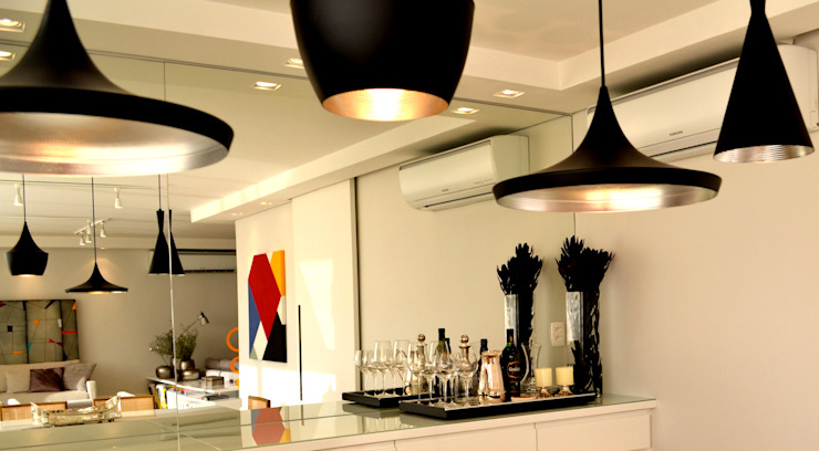 Helô Marques Associados Dining roomLighting