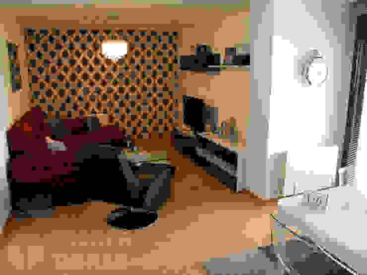 Traber Obras 现代客厅設計點子、靈感 & 圖片