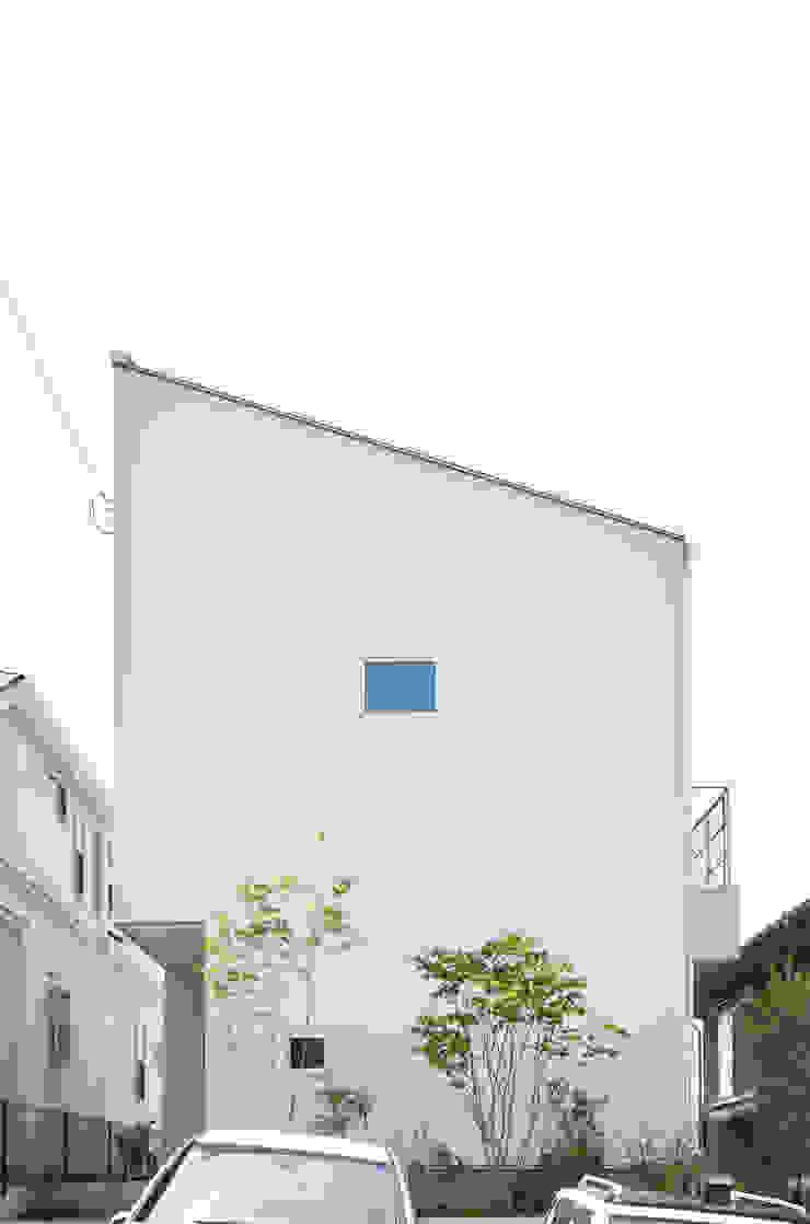 Sunset House ミニマルな 家 の 富田健太郎建築設計事務所 ミニマル