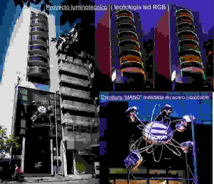 Proyecto luminotécnico Casas modernas: Ideas, imágenes y decoración de Postigo design Moderno