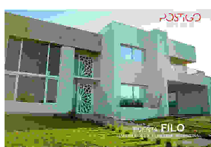 Puerta Filo Casas modernas: Ideas, imágenes y decoración de Postigo design Moderno