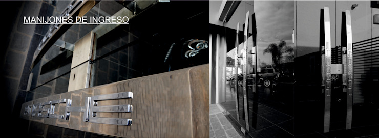Porsche Center Cordoba Agencias de autos de estilo moderno de Postigo design Moderno