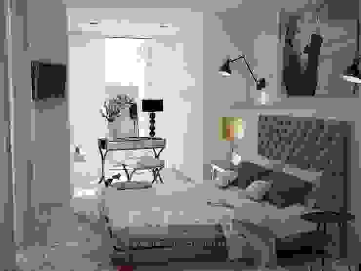 Один из вариантов интерьера спальни в квартире Спальня в классическом стиле от Olga's Studio Классический