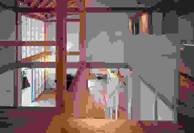 kitadoi house 和風の 玄関&廊下&階段 の 髙岡建築研究室 和風